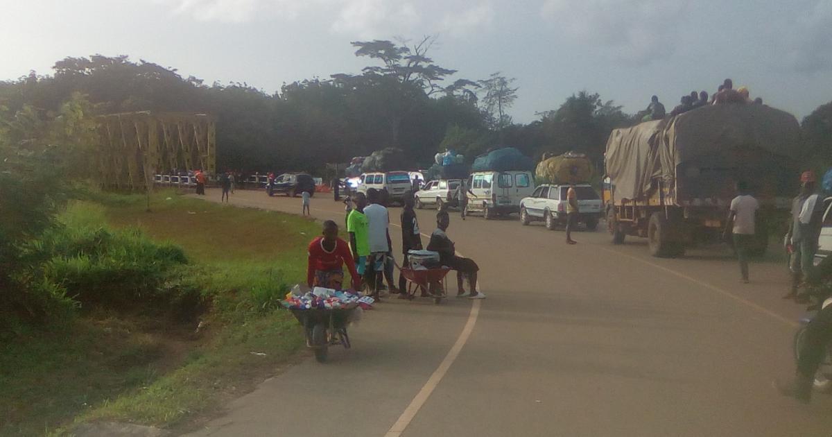 Guinea Border Partially Opened